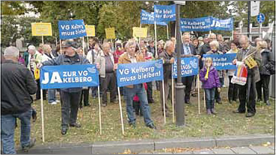 Gebündelter Protest in Mainz